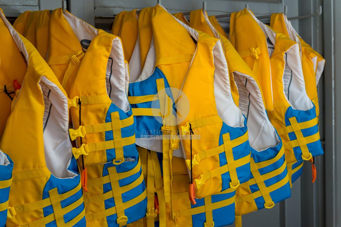 """""""Life jackets"""" stock image"""