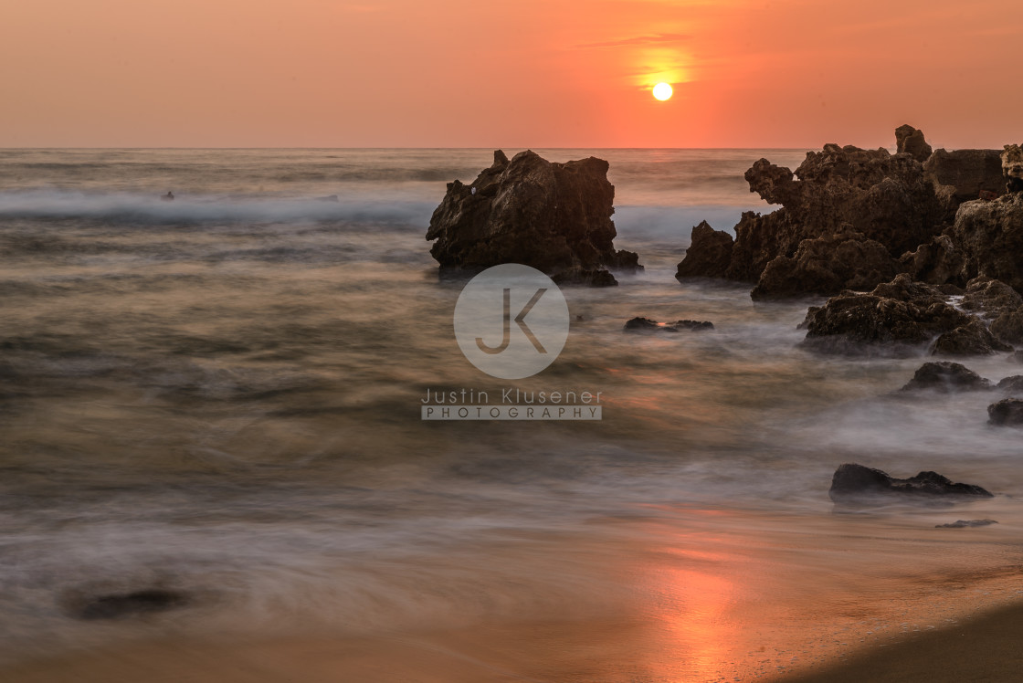 """Umdloti Sunrise"" stock image"