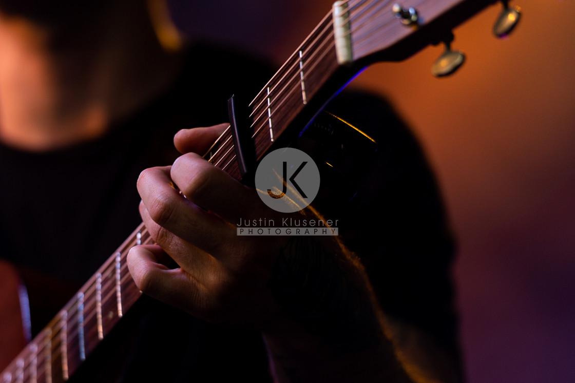 """""""Guitar Close up"""" stock image"""