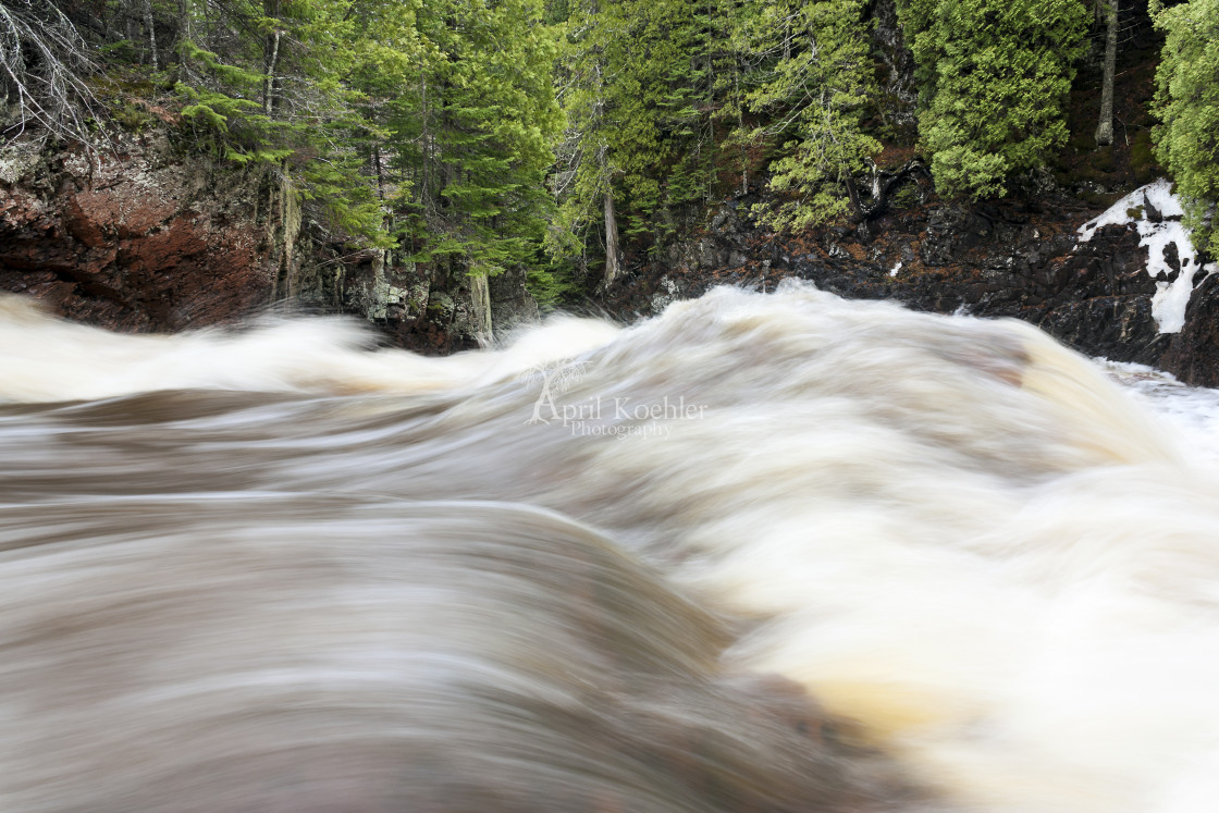 """""""The River is High"""" stock image"""