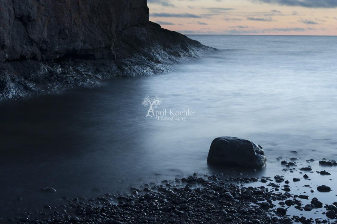 """Lake Superior Inlet"" stock image"