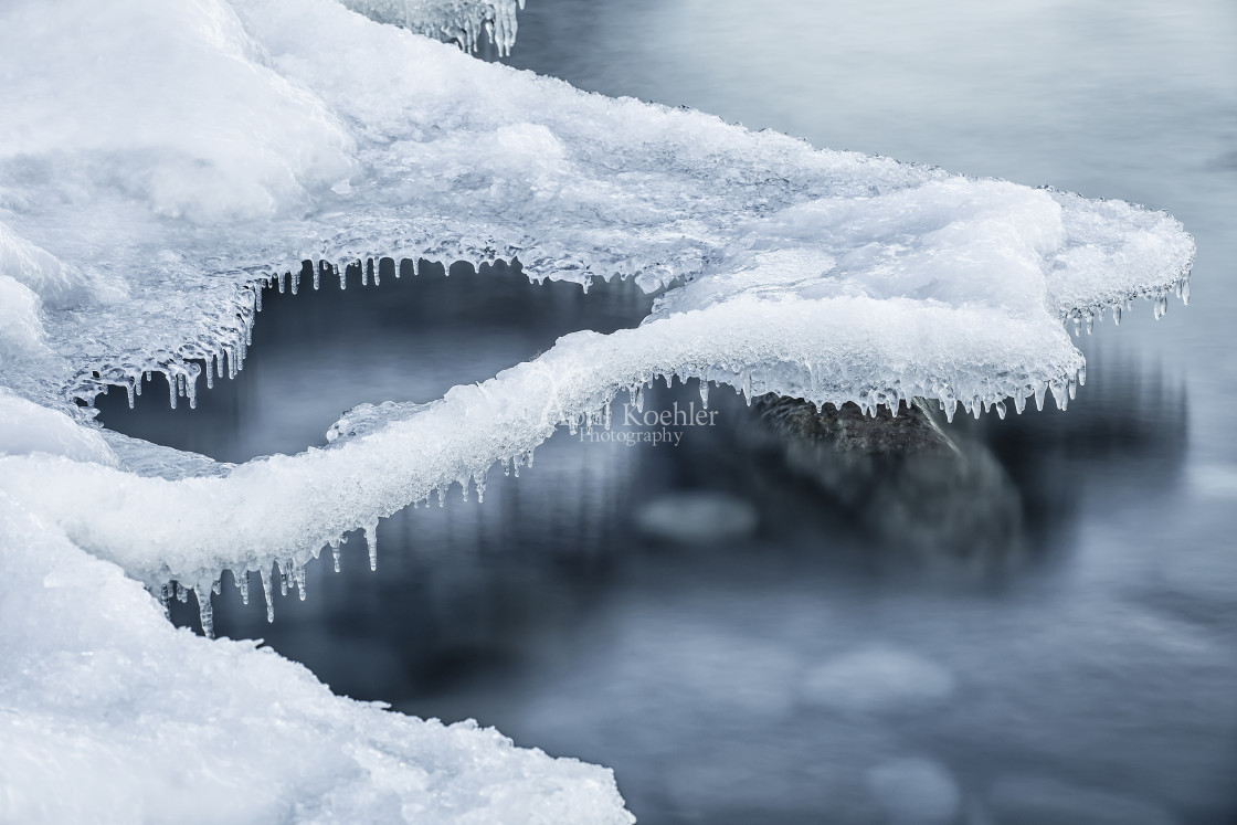 """Hovering Ice"" stock image"