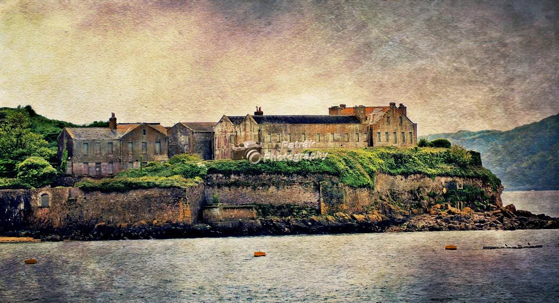 """16th Century Fortress & Barracks"" stock image"