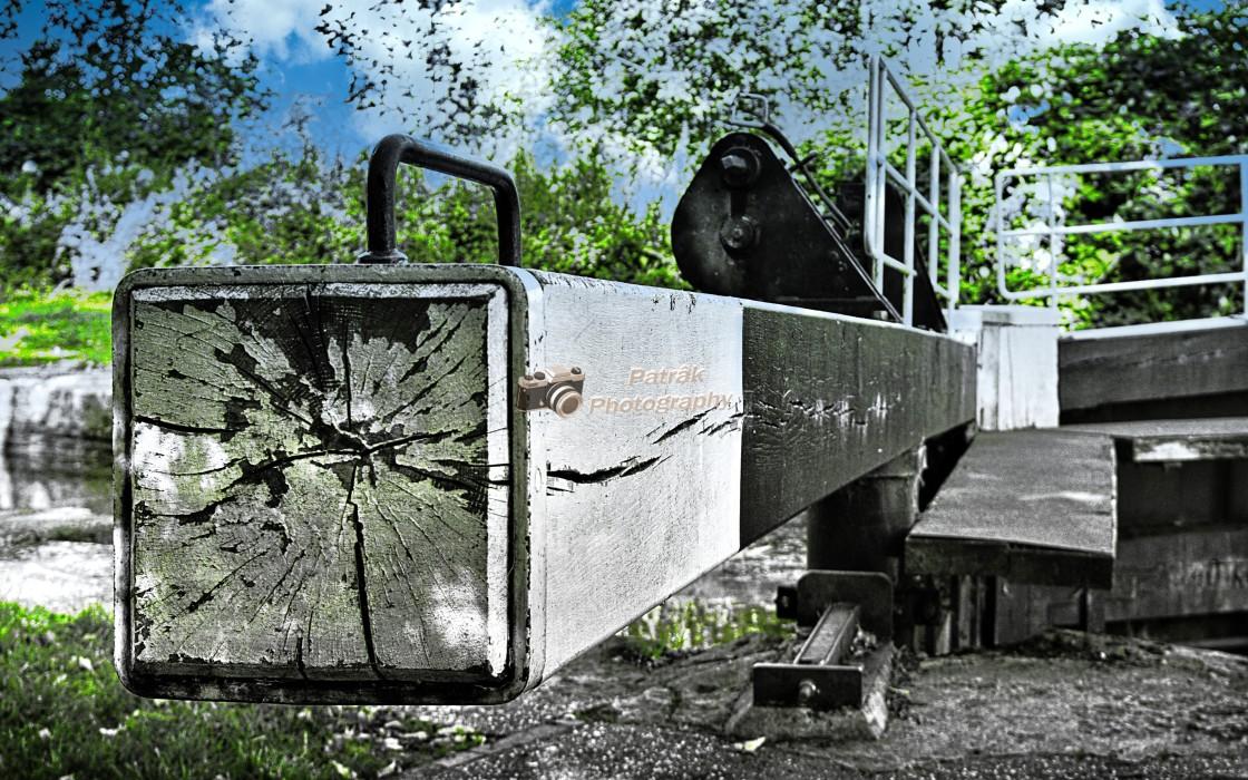 """Lock Gate"" stock image"