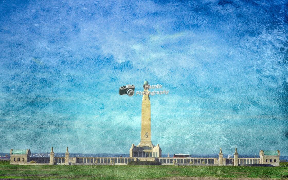 """Portsmouth Naval Memorial"" stock image"