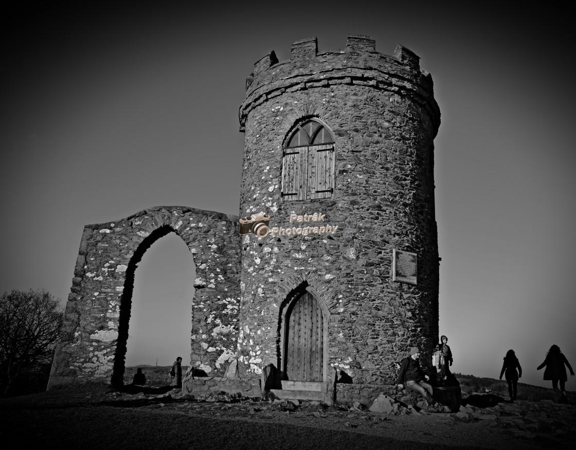 """Old John Tower - Bradgate Park"" stock image"