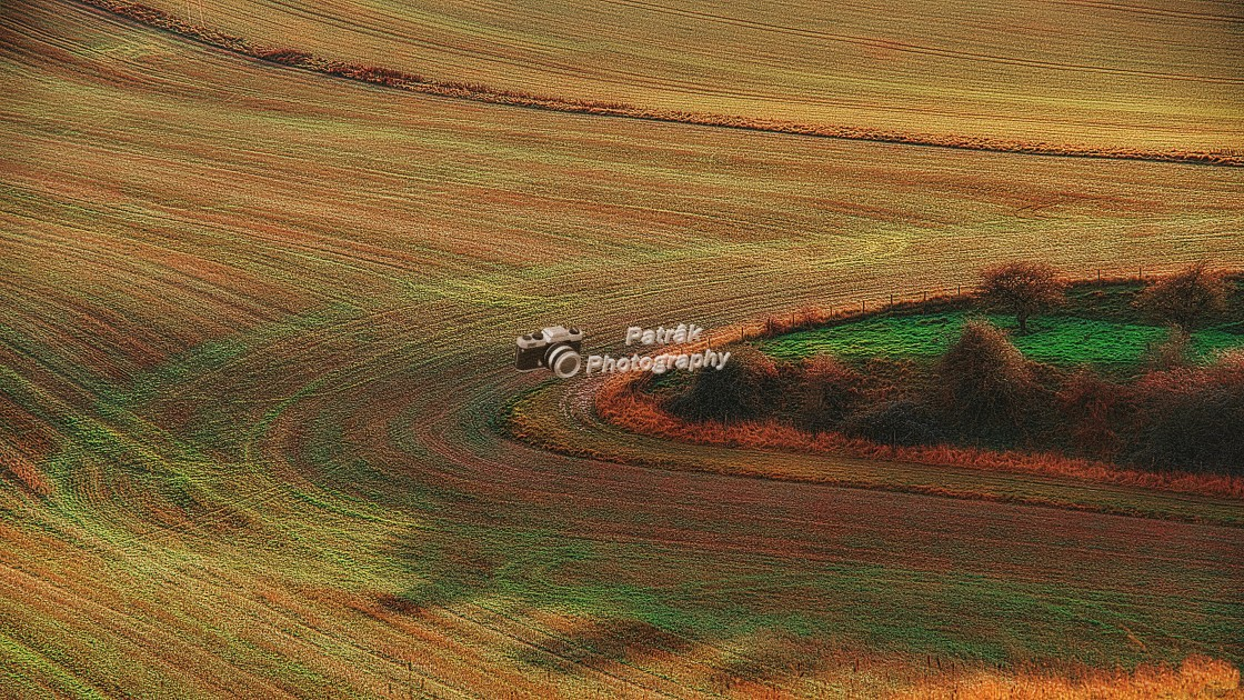 """""""Tractor Lines"""" stock image"""