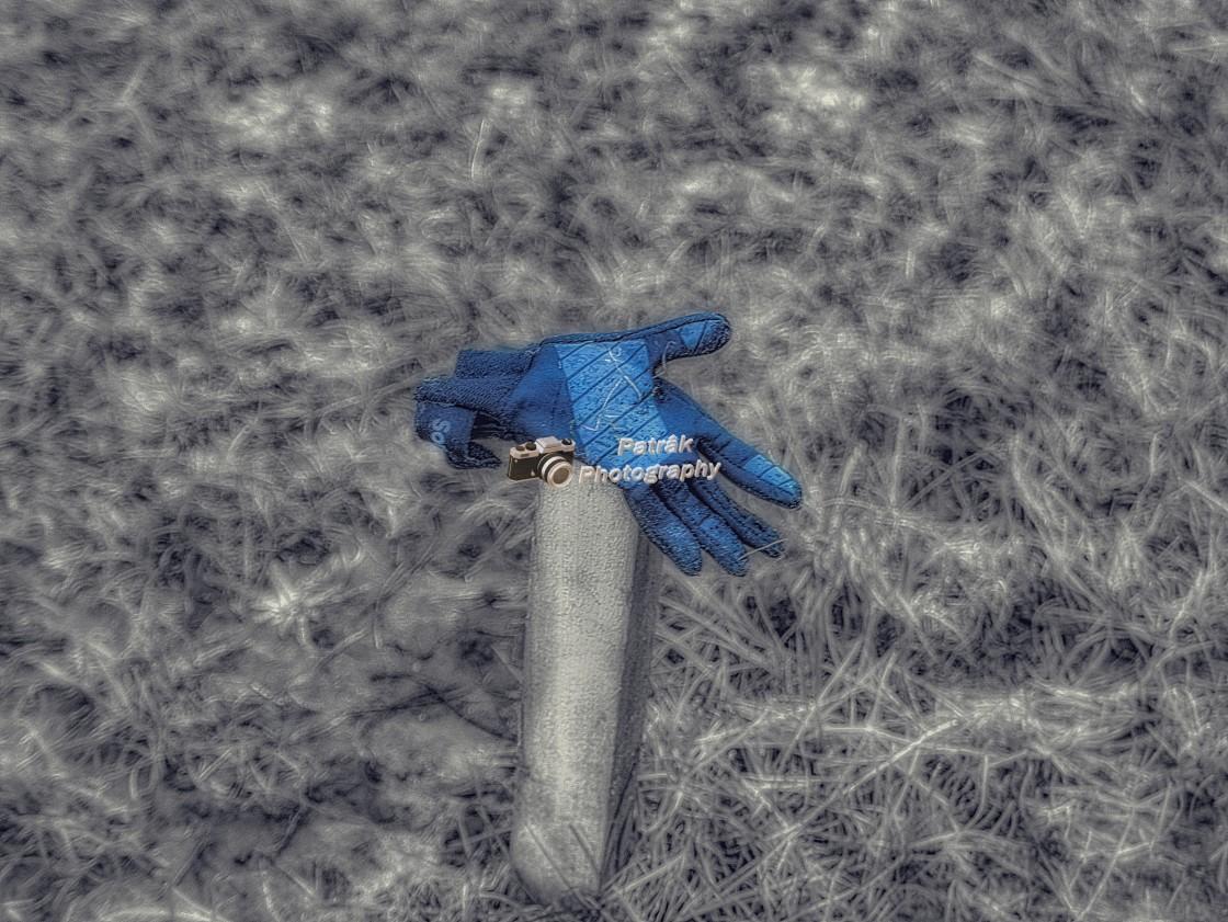"""Lost Glove"" stock image"