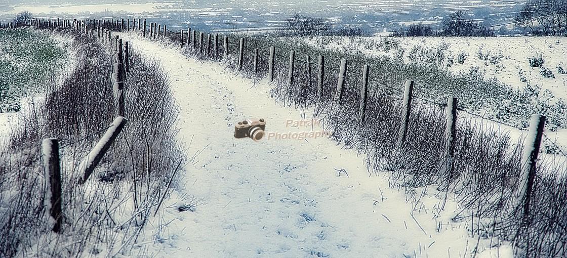 """Nine Hills Bridle Path - Devizes, Wiltshire, England"" stock image"