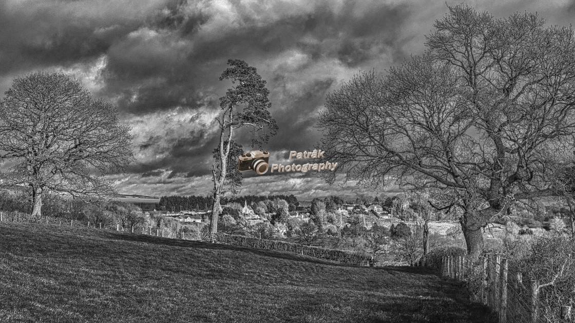 """Walking Towards Stert Village - Wiltshire, England"" stock image"