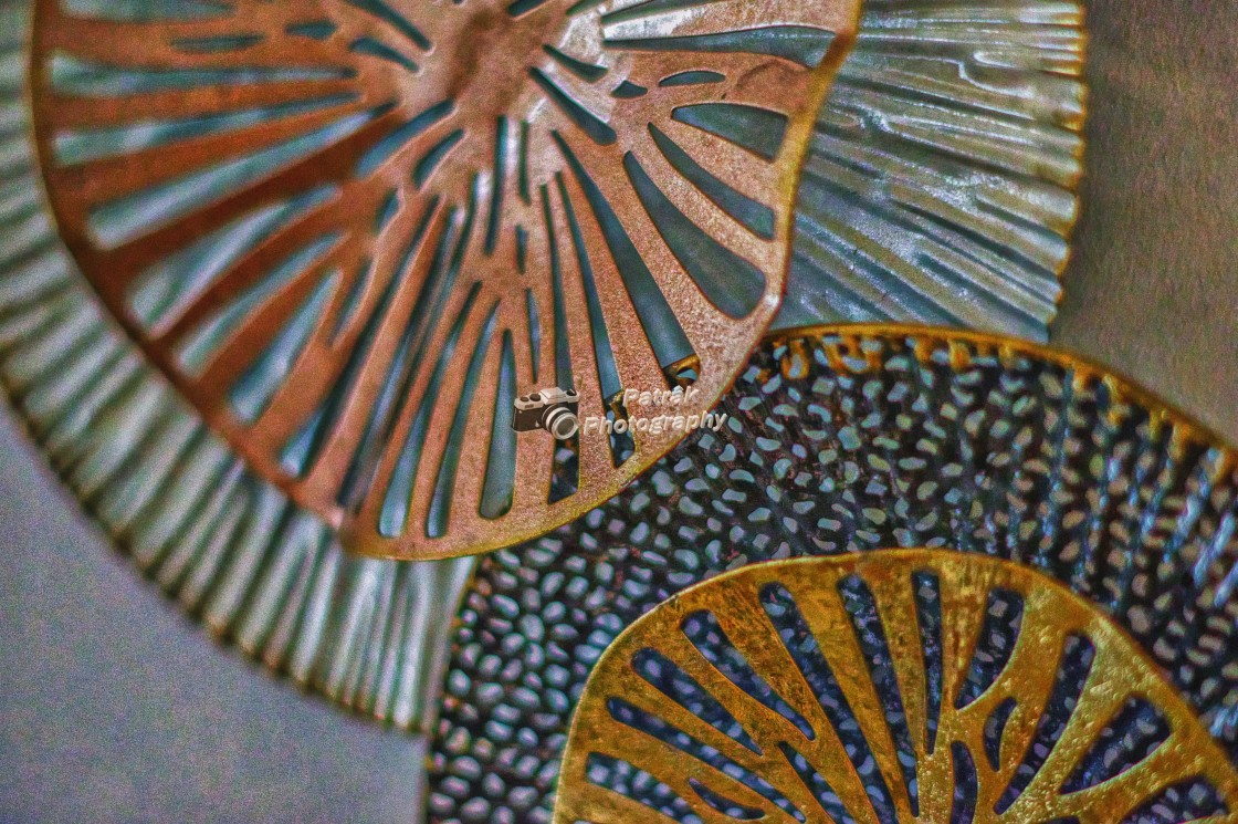 """Decorative Metalwork"" stock image"