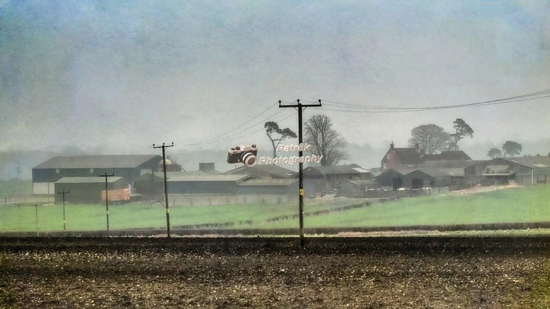 """Sleight Farm, Wiltshire, England"" stock image"