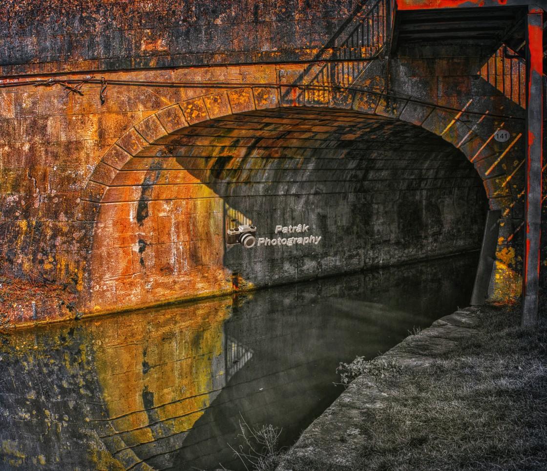 """Northgate Street Bridge - No 141 - Devizes, Wiltshire, England"" stock image"