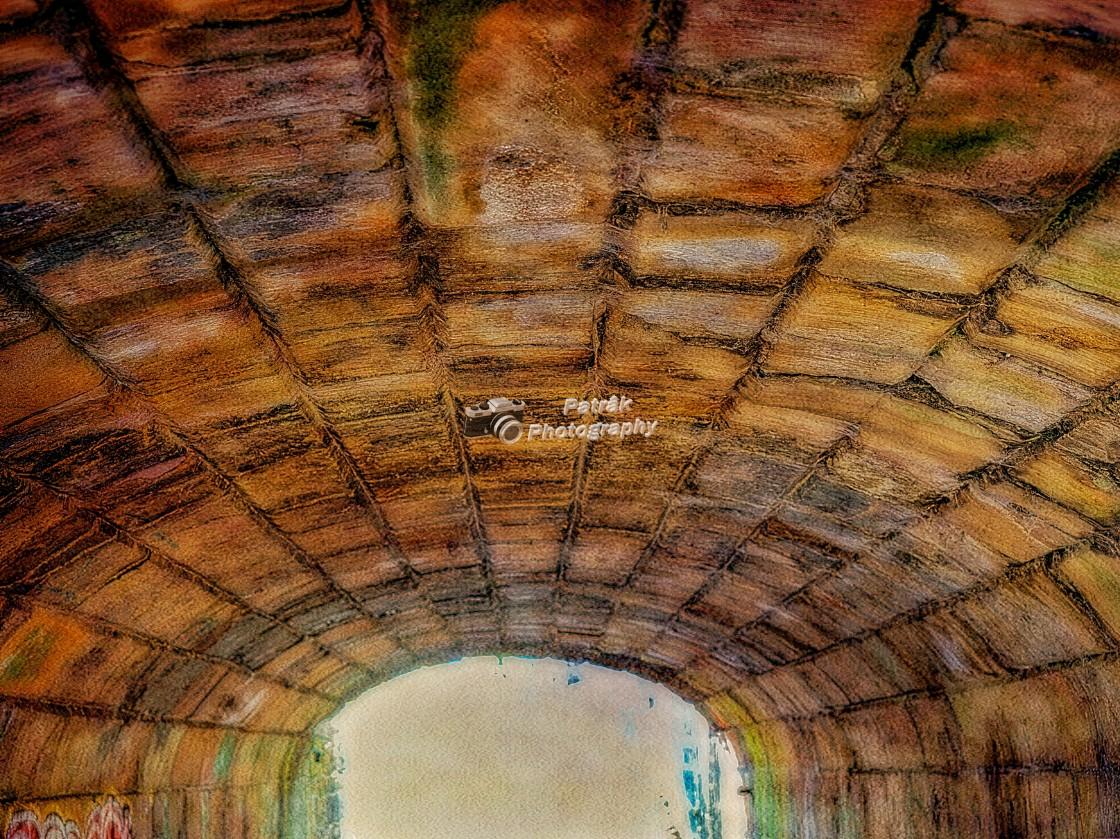 """Bath Road Bridge - Pedestrian Tunnel - Devizes, Wiltshire, England"" stock image"