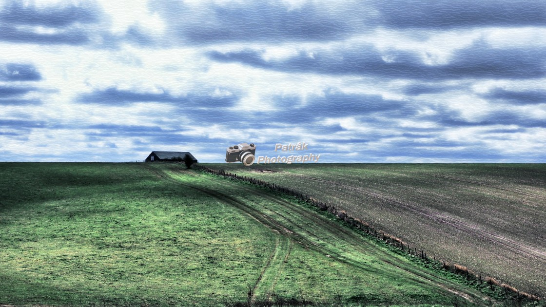 """""""Salisbury Plains - Wiltshire, England"""" stock image"""