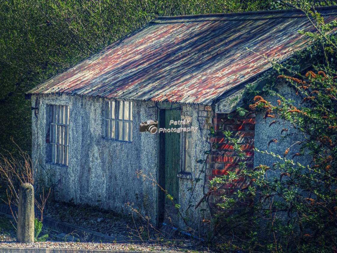 """Old Workshop - Pewsey, Wiltshire, England"" stock image"