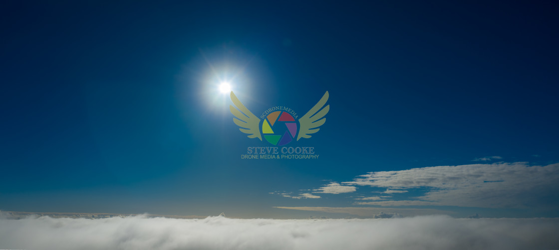 """""""Above The Mist"""" stock image"""