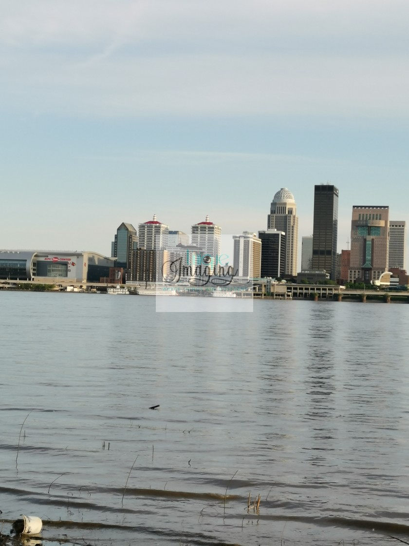 """""""City of Louisville Kentucky"""" stock image"""