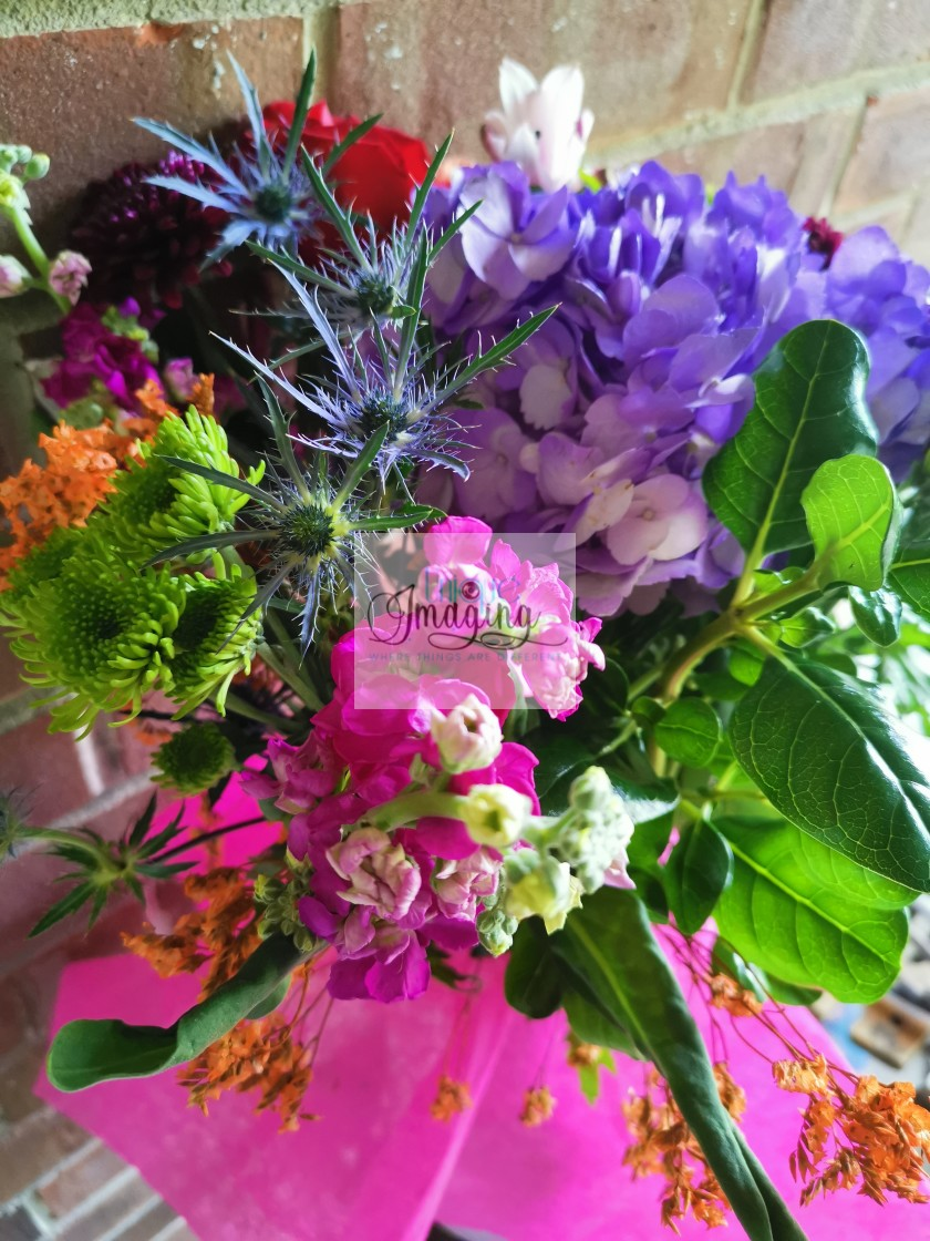 """""""Bouguet of flowers"""" stock image"""