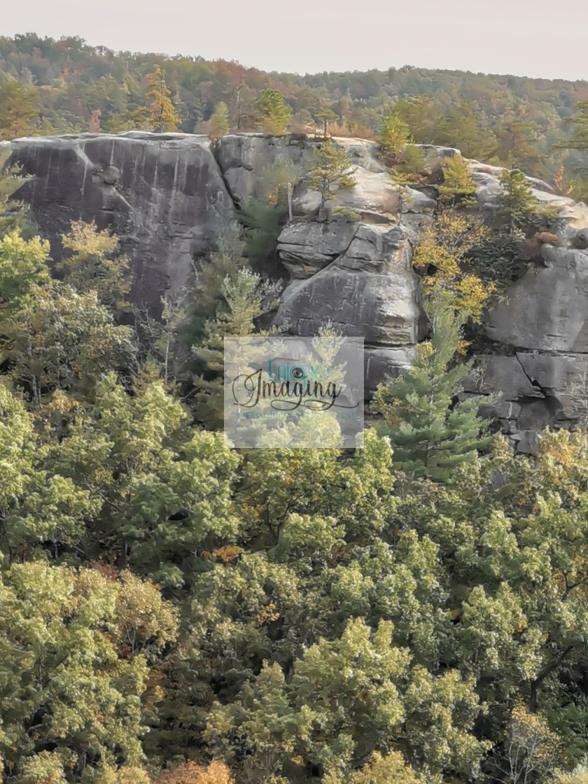 """Half-Moon Rock"" stock image"