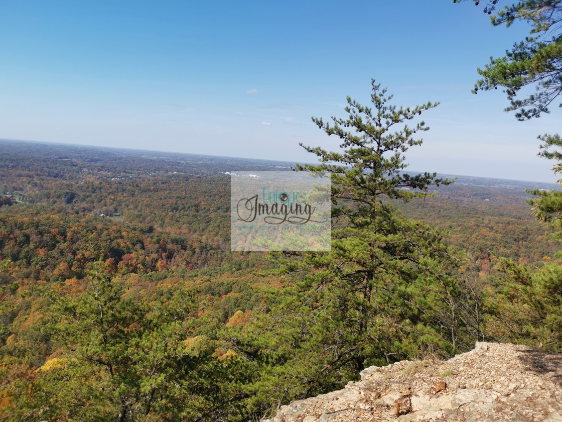 """""""A mountaintop view"""" stock image"""