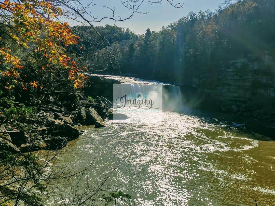 """Cumberland Falls Scenic View"" stock image"