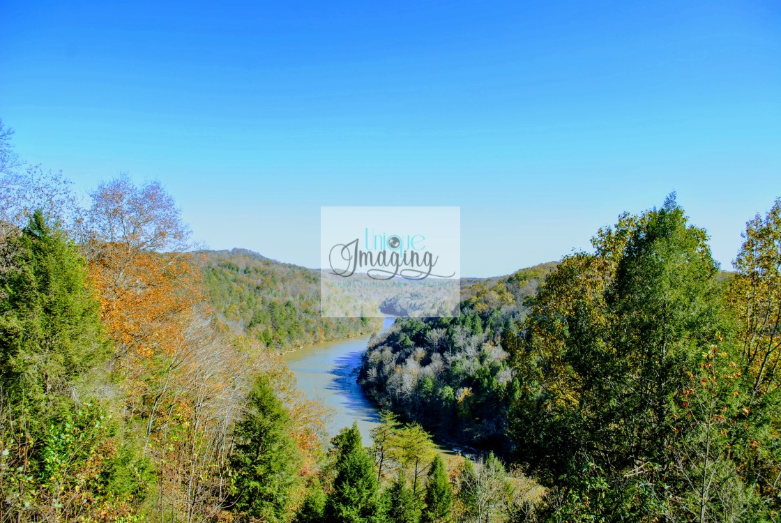 """""""THE CUMBERLAND RIVER"""" stock image"""