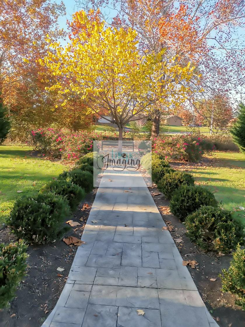 """Fall at Eastland Park"" stock image"