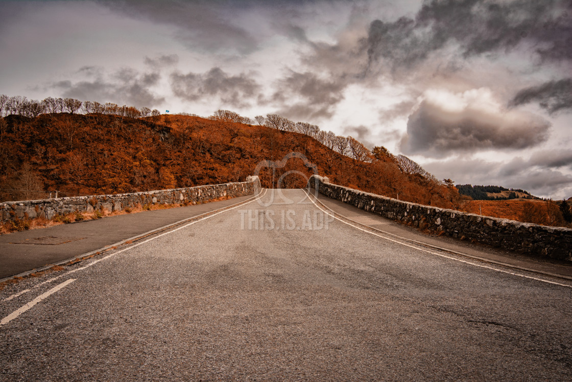"""""""The Bridge Over The Atlantic"""" stock image"""