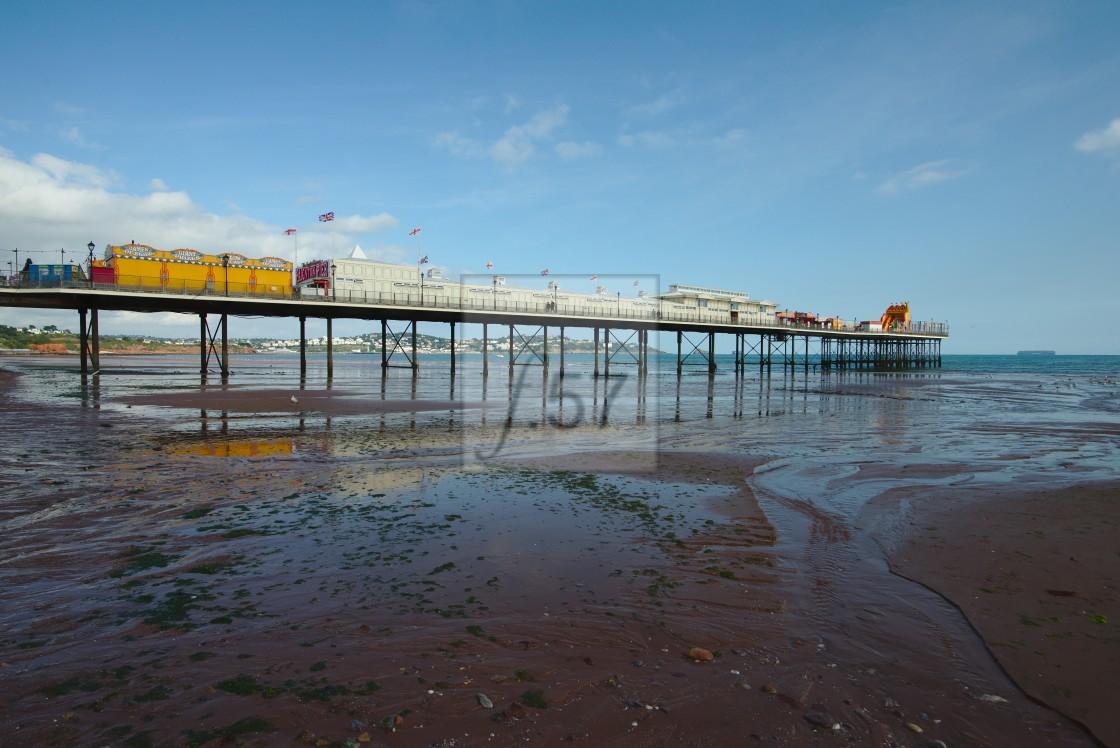 """""""Paignton Pier"""" stock image"""
