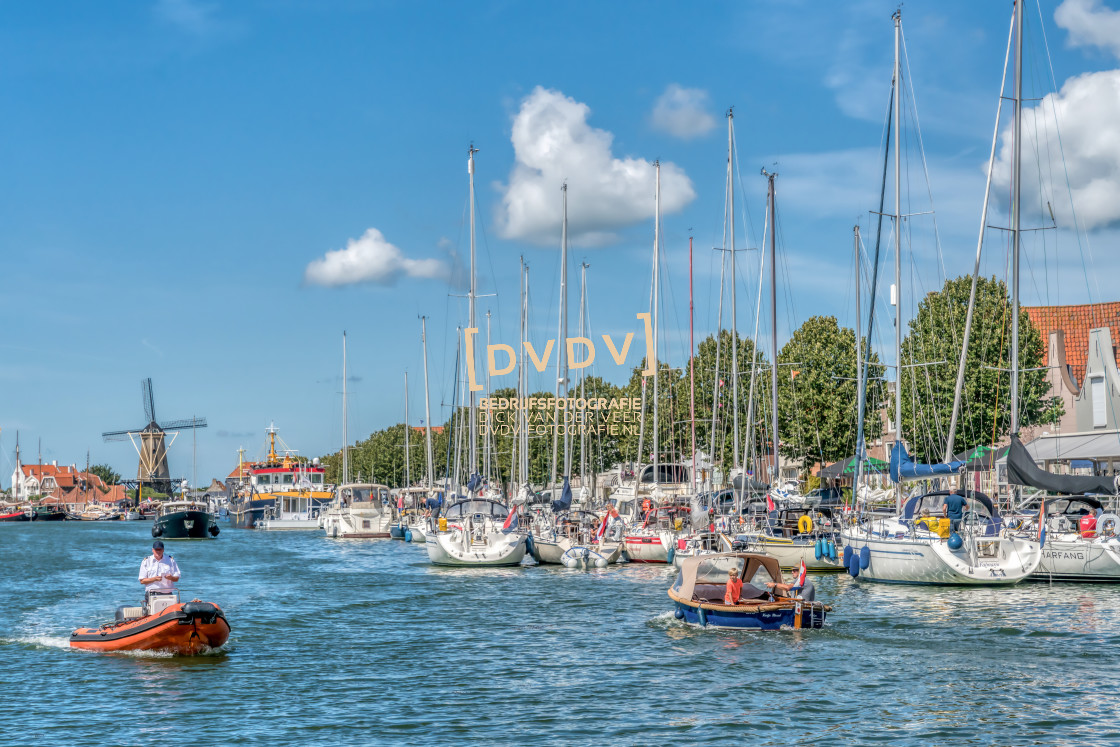 """101668 Haven Zierikzee"" stock image"