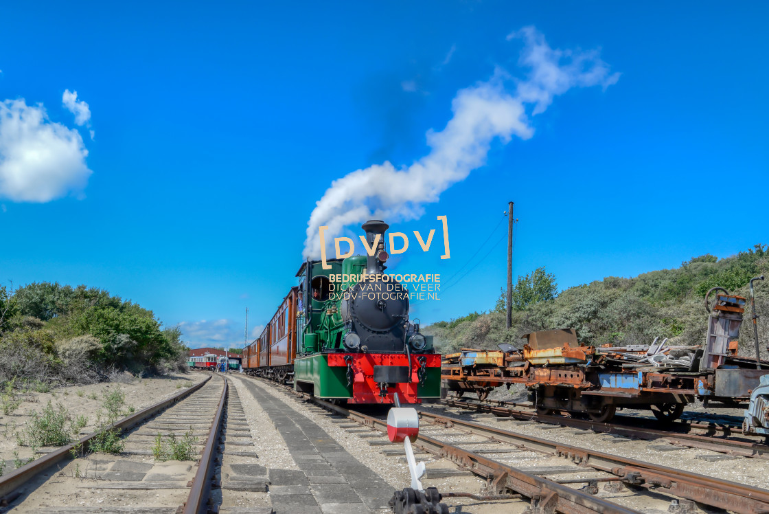 """""""102627 RTM Museum Ouddorp"""" stock image"""