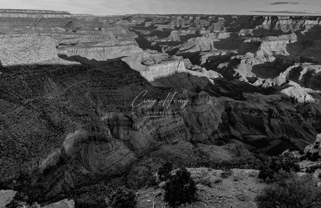 """Grand Canyon at sunrise"" stock image"