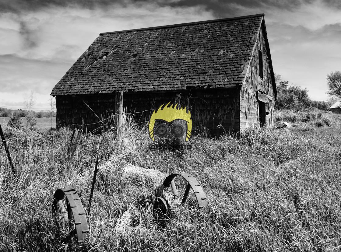"""Old Barn"" stock image"