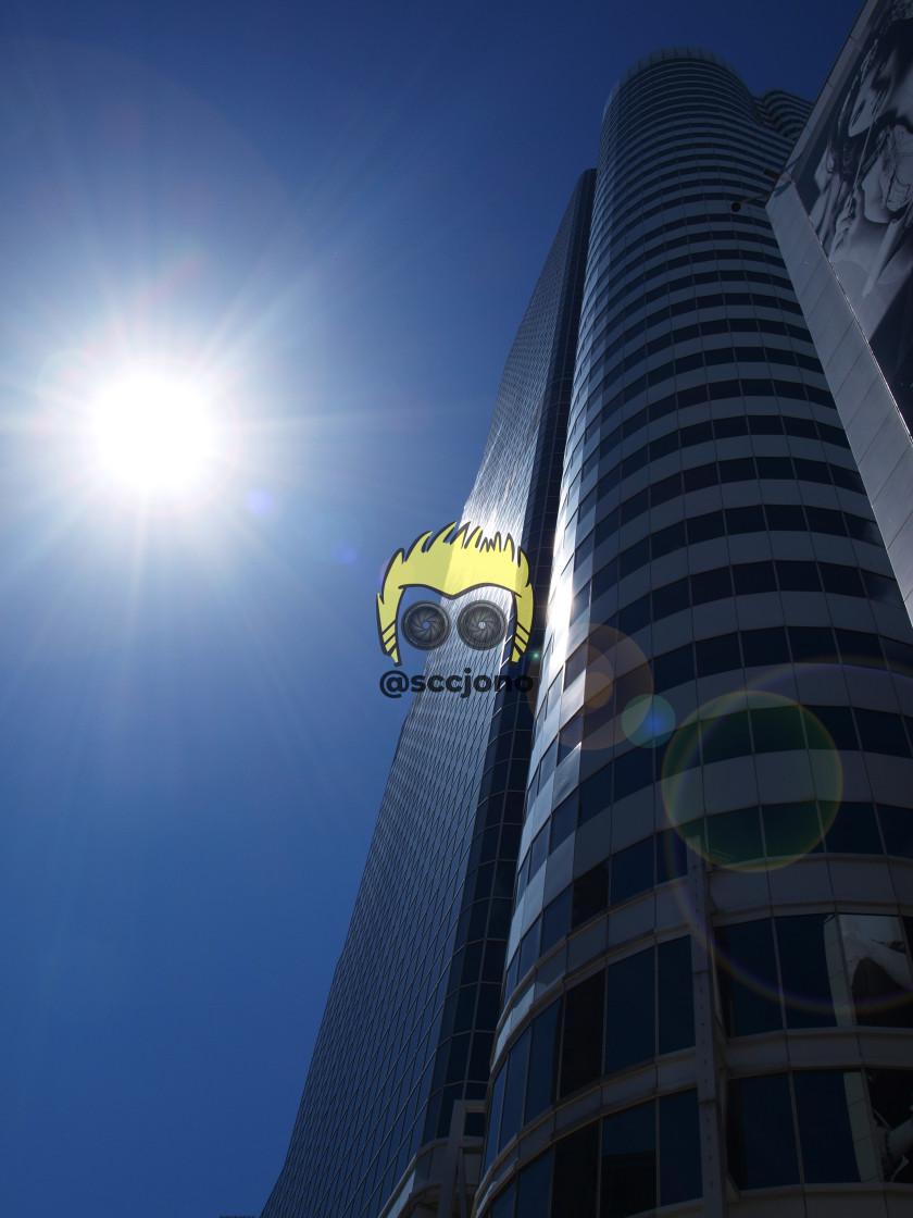 """Shining Tower"" stock image"