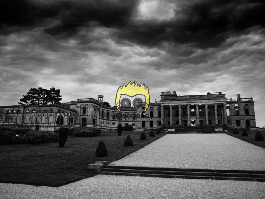 """""""Witley Court"""" stock image"""