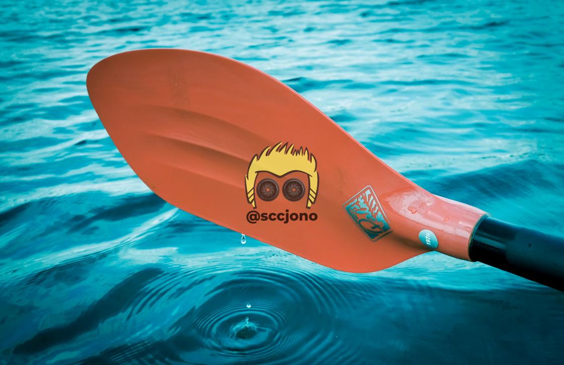 """Paddle Blade"" stock image"