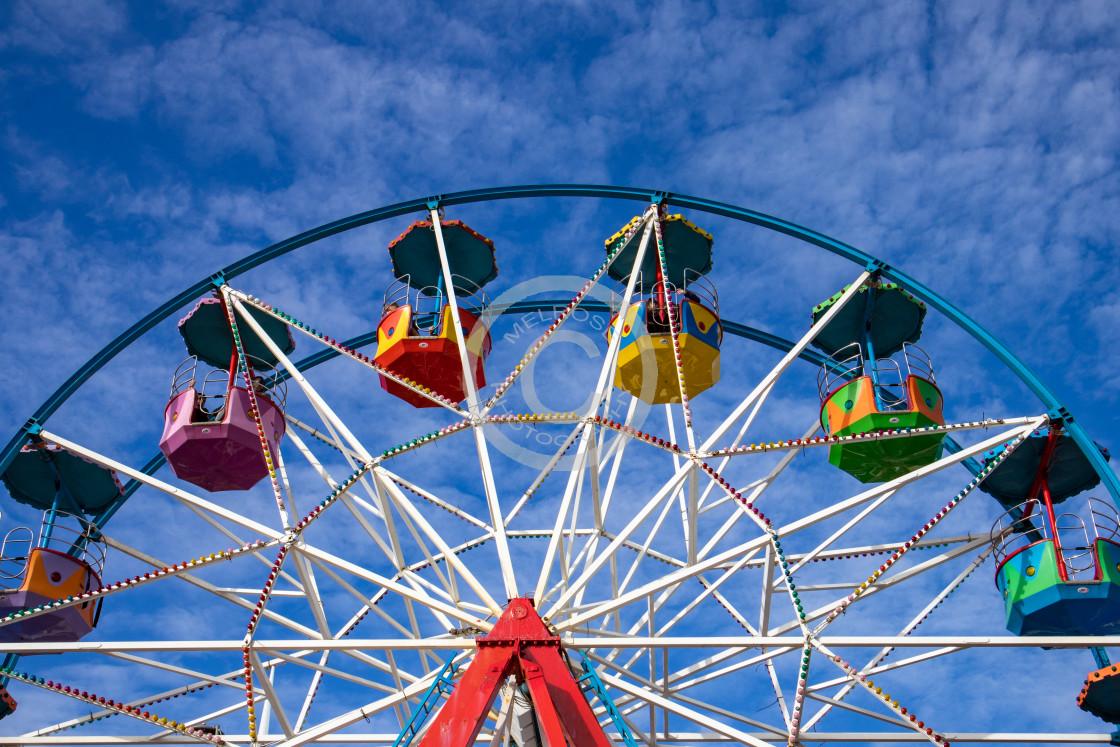 """Big Wheel Carnival"" stock image"