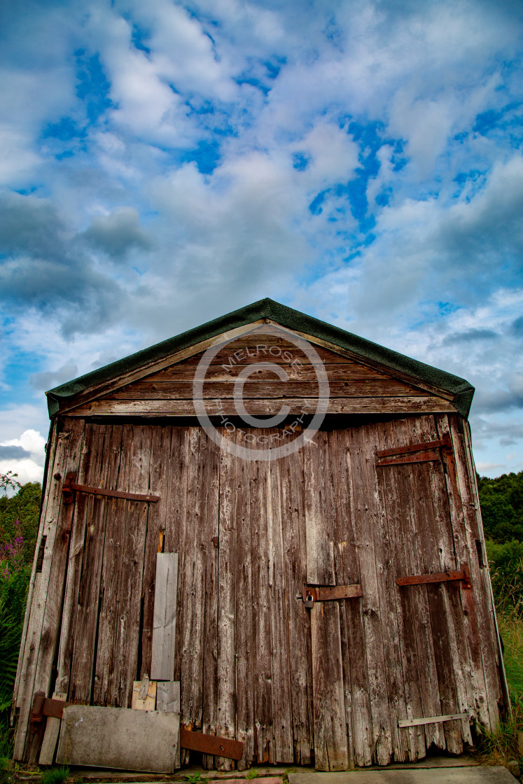 """""""Old Shed"""" stock image"""