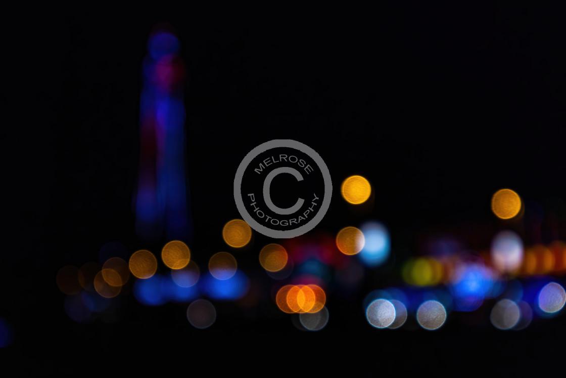 """Blackpool Colourfull Bokeh"" stock image"