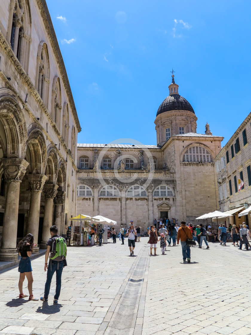 """""""Dubrovnik within the walls"""" stock image"""