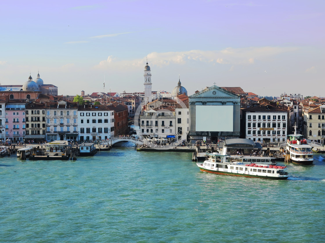 """""""The city of Venice"""" stock image"""