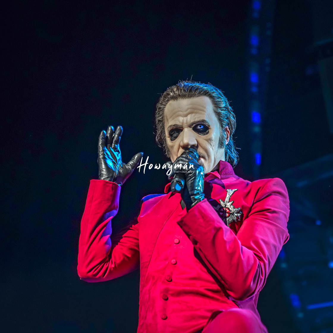 """Cardinal Copia of Ghost"" stock image"
