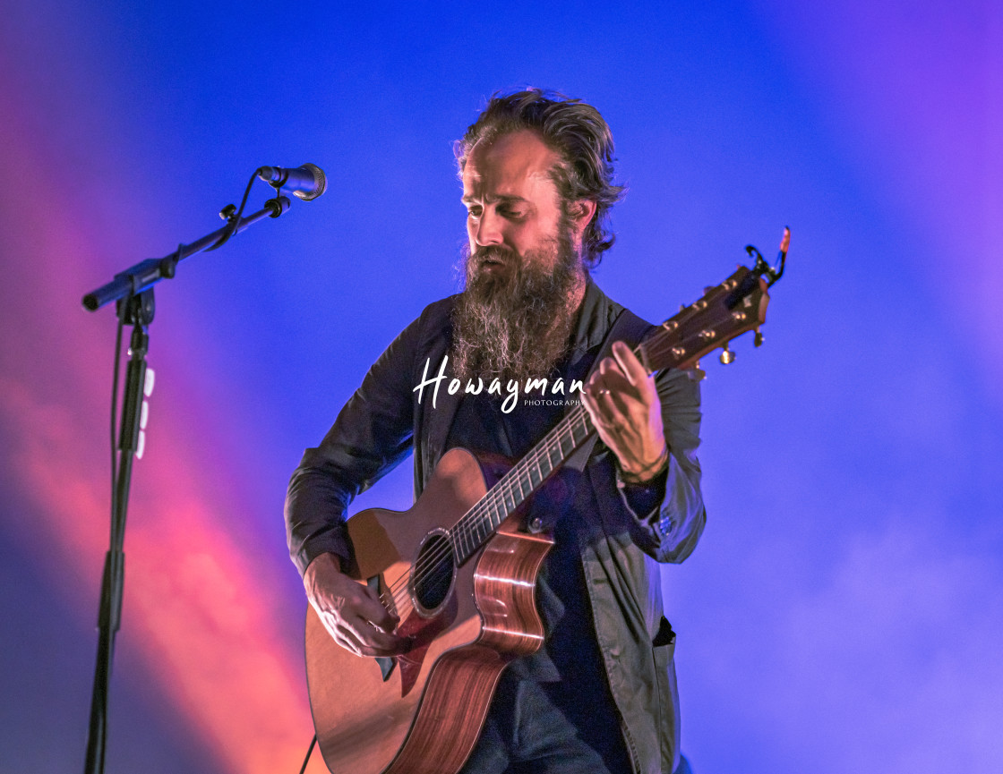 """Iron & Wine"" stock image"