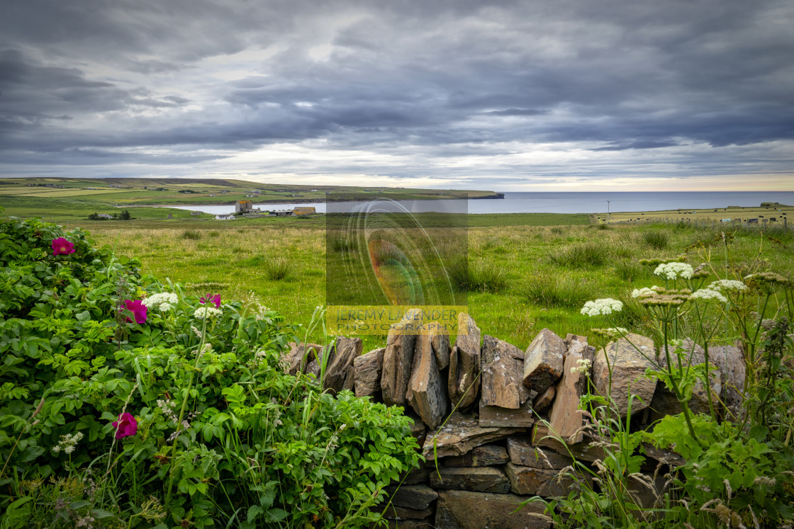"""John o' Groats Scenery"" stock image"