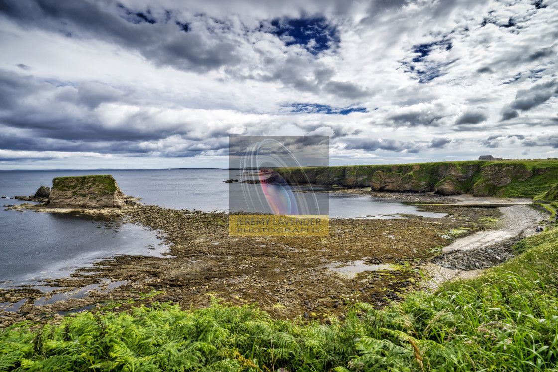 """Brough Bay"" stock image"