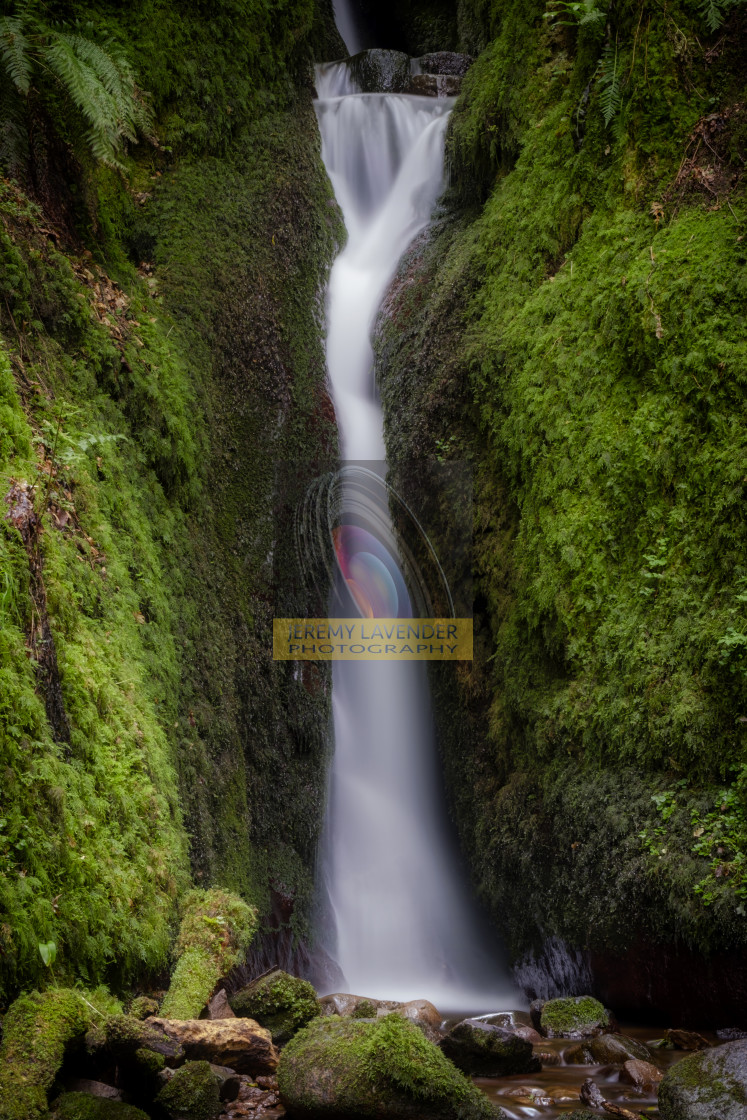 """Dollar Glen Waterfalls"" stock image"