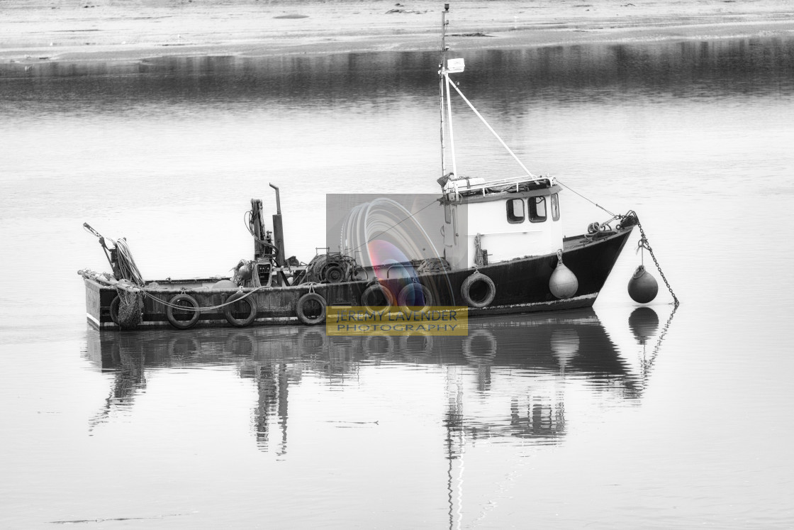 """Fishing Boat"" stock image"