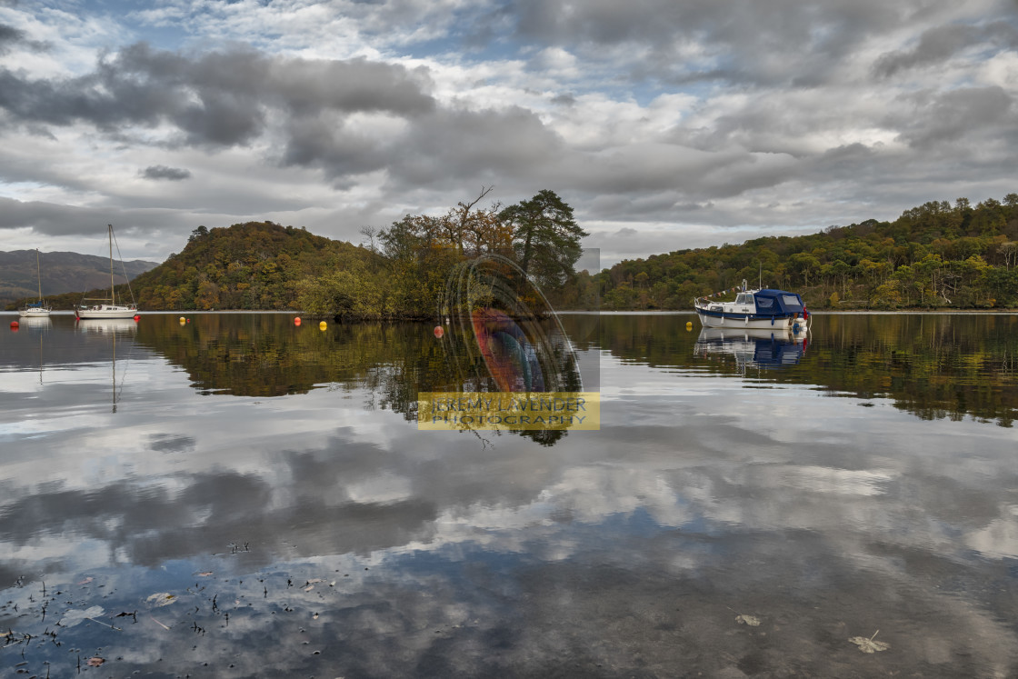 """Loch Lomond in Scotland"" stock image"