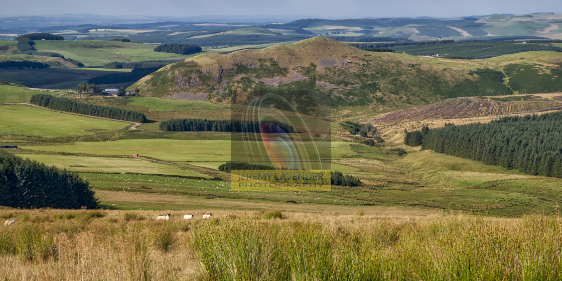 """Scotland view from England borders"" stock image"